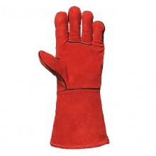 Ръкавици телешки велур с кевлар 2633