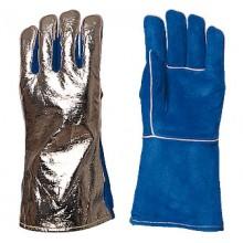 Ръкавици телешки велур алуминизирани 2634