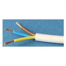 кабел швпс 3x1,5 бял