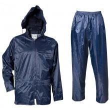 Водозащитен комплект яке + панталон CARINA - син, PVC/Полиамид