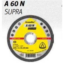 Диск за рязане на Алуминий A 60 N SUPRA x1mm