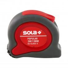 Ролетка с пластмасов корпус SOLA POPULAR 3мХ13мм