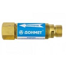 Предпазен клапан за монтаж към резак - кислород DONMET