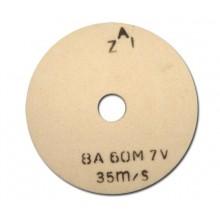 Шмиргелов камък 250/13/32 8А ZAI - бял
