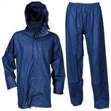 Водозащитен комплект яке + панталон STORMER - син, П/Полиуретан