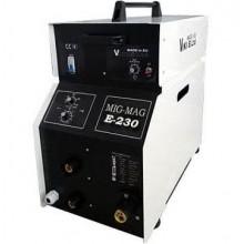 Инверторен заваръчен апарат МИГ-МАГ 230А ПРОФЕСИОНАЛ + 15 кг ролка ВИКИ-Б