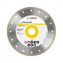 Диамантен диск BOSCH Turbo ECO Universal 125 mm