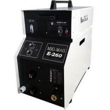 Инверторен заваръчен апарат МИГ-МАГ 260А ПРОФЕСИОНАЛ + 15 кг ролка ВИКИ-Б