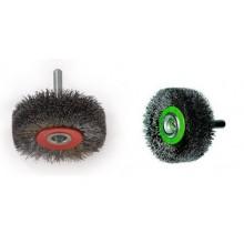 Четки за дрелка с гофриран стоманен косъм ф50-ф70 мм OSBORN