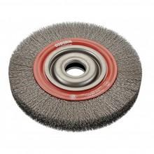 Четка дискова гофрирана с черен косъм ECO OSBORN D100х20 мм