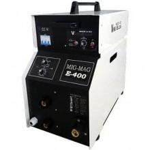 Инверторен заваръчен апарат МИГ-МАГ 400А ПРОФЕСИОНАЛ + 15 кг ролка ВИКИ-Б