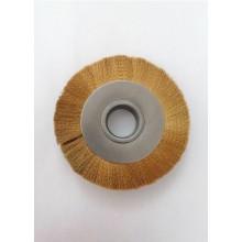 Четка дискова ф130 мм с месингов косъм 0,10 мм ЧИКО-ПЕЩЕРА