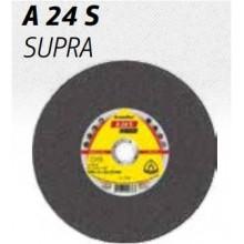 Диск за рязане A 24 S SUPRA Отливки 230x3 x22.3