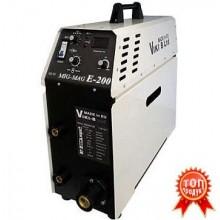 Инверторен заваръчен апарат МИГ-МАГ 200А ПРОФЕСИОНАЛ + 15 кг ролка ВИКИ-Б