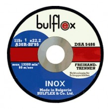 Диск за рязане 115/125х1х22,2 INOX BULFLEX