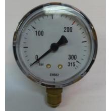 Манометър MAXY за СО2/Ar, 315 атм. - вход OxyTurbo